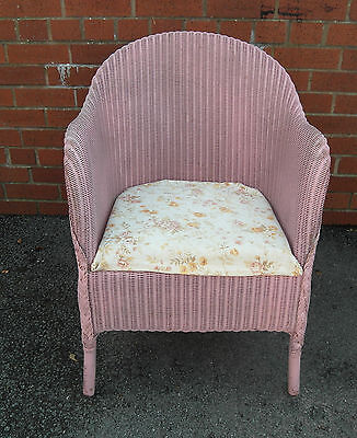 Vintage 1930 Lloyde Loom Chair
