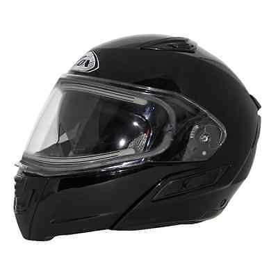 ZOX Condor SVS Electric Double Shield Solid Snow Helmet Black SMALL