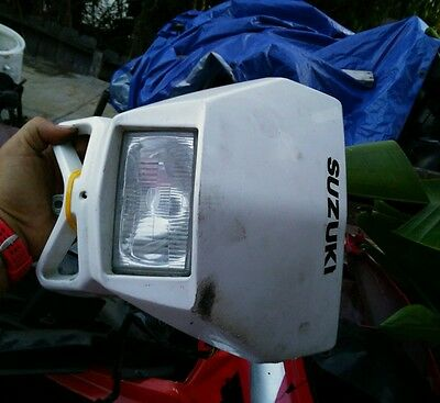 00-16 DRZ400SM DRZ400 S front head light assembly with headlight control switch