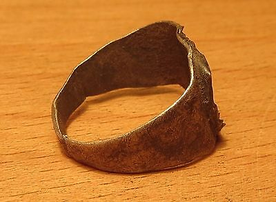 """Scythian Silver Ring For a Child or a Young Girl 7-3 th Century BC """"2.5 grams"""""""