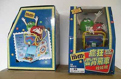 M&M's - RARE distributeur - roller coaster - limited edition - Taiwan 2002