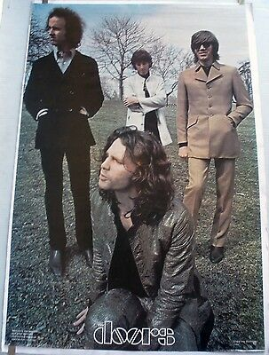 Rare The Doors 1978 Vintage Original Head Shop Music Poster