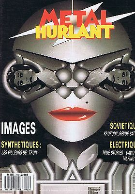 TALKING HEADS Metal Hurlant FRENCH COMIC BOOK no. 130