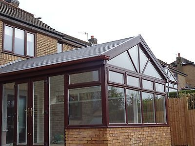 Custom made bespoke insulated conservatory roof