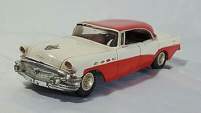 AMT 1956 Buick Roadmaster Red and White Fair Condition Promo Car