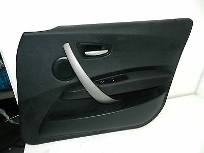 Bmw 1 Series E87 Door Card Panel Front Right O/s Driver Side 5Dr