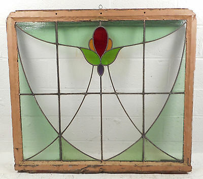 Vintage Stained Glass Window Panel (2801)NJ