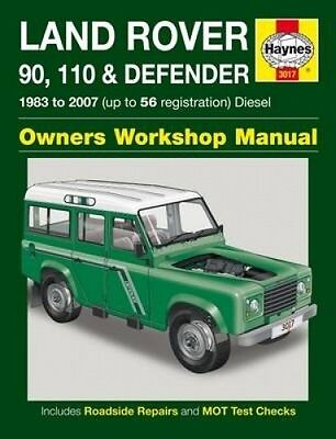 Land Rover 90, 110 & Defender Diesel Service and Repair Manual (Haynes Service a