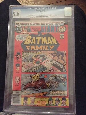 Batman Family #6 CGC 9.6 The First Appearance Of Jokers Daughter Very RARE