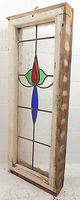 Vintage Stained Glass Window Panel (2816)NJ