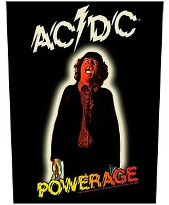 AC/DC BACK PATCH New Official POWERAGE
