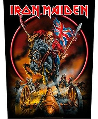 IRON MAIDEN BACK PATCH New Official ENGLAND