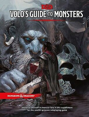 Volo's Guide To Monsters 5th Edition Dungeons & Dragons