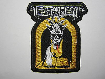 TESTAMENT The Legacy embroidered NEW patch thrash metal