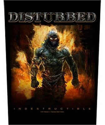 Disturbed BACK PATCH New Official Indesctructable