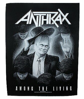 Anthrax BACK PATCH New Official Among the living