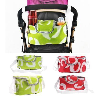 Convenient Baby Pram Stroller Pushchair Storage Bag Bottle Holder