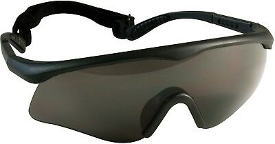 Black ANSI Rated Tactical Interchangeable Goggles Kit