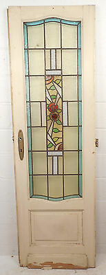 Vintage Stained Glass Door (1501)NJ