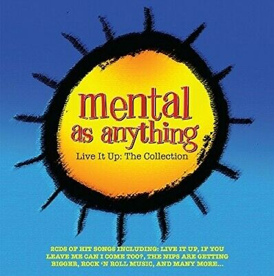Live It Up: Collection - Mental As Anything (2016, CD NUEVO)2 DISC SET