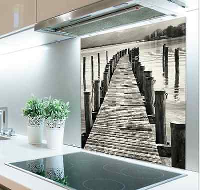 60cm x 75cm Digital Print Glass Splashback Heat Resistant  Toughened 404