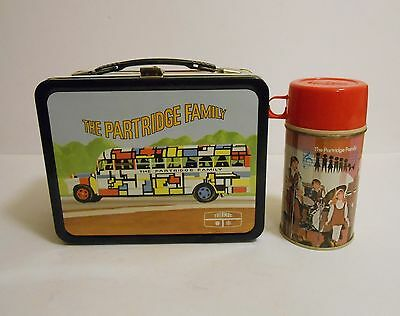 1971 Vintage Partridge Family Lunchbox Thermos Mint C9.5 Unused !!!!