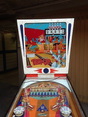 Pinball flipper TEN-UP