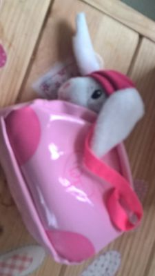 designa friend doll by chad valley pet rabbit & bag new boxed