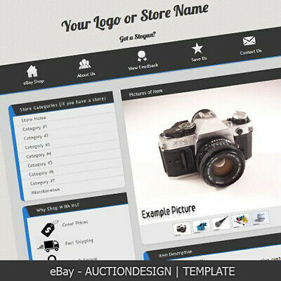 eBay Professional Custom Design Auction Listing Template - 2018 conform (3)