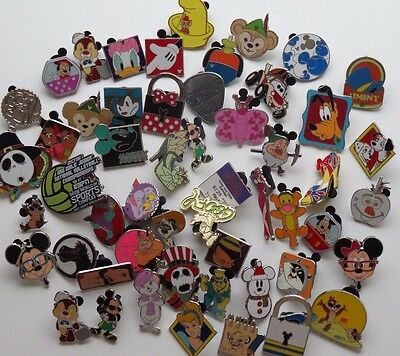 Disney Pin Lot of 50 Trader Pins All Authentic Great for Trading in the parks!!