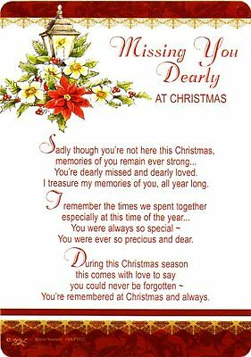 missing you at christmas time