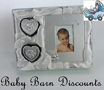 Baby Set - My First Curl - My First Tooth & Photo Frame - SILVER