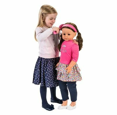 Life Size Doll My Sweet Lil' Sister Brunette Walking Dolly Huge 86cm High NEW