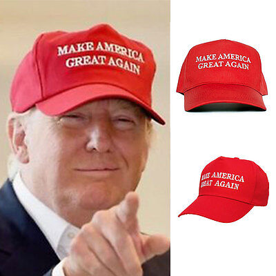 Make America Great Again Hat Donald Trump 2016 Republican Hat Cap Adjustable Hot