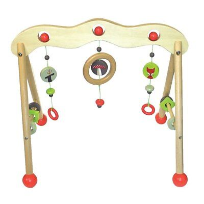 Discoveroo - Wooden Baby Play Gym - Woodland Adventure