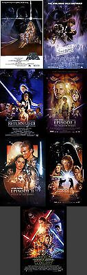 STAR WARS Theatrical Posters PACK (37-40 x 59 cm)