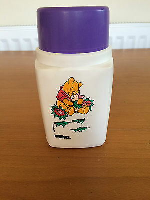 Vintage Disney Winnie the Pooh and Piglet Thermos Roughneck Flask with Cup