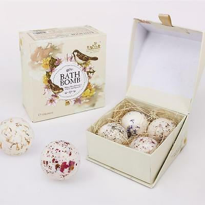 Bath Natural Sea Salt Ball Softening Keratinized Skin Body Relax Essential Oil