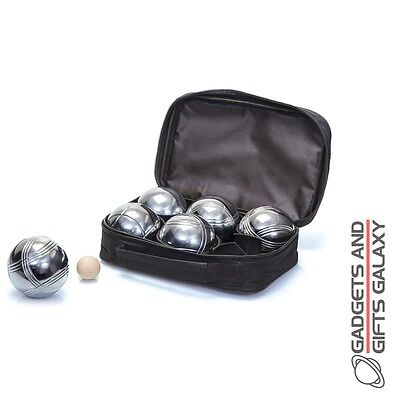 HIGH QUALITY FRENCH BOULES SET outdoor garden summer toy gift novelty adults