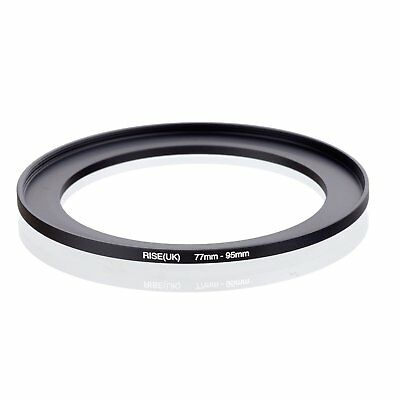 77-95mm Step-Up Metal Adapter Ring / 77mm Lens to 95mm UV CPL Filter Accesdapter