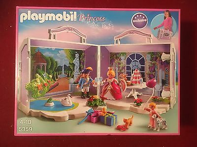 Playmobil Take Along Palace Castle  Princess With Extras