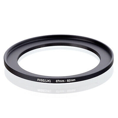 RISE(UK) 82mm to 62mm 82-62mm Step-Down Lens Filter Ring Adapter