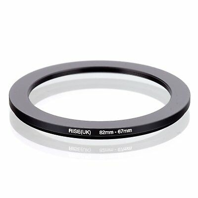 RISE(UK) 82-67MM 82 MM- 67 MM 82 to 67 Step Down Ring Filter Adapter