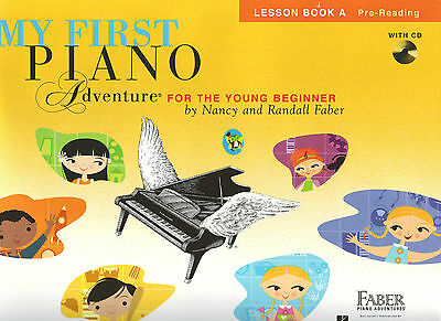 My First Piano Adventure for the Young Beginner - Lesson Book A + CD  FF1619