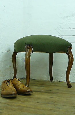 Mid -19Th Century Sabre Legged Stools Of Good Proportions New Upholstery