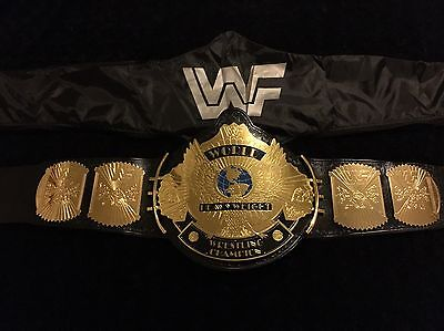 Wwe Wwf Replica Winged Eagle Wrestling Belt With Bronze  Croc Backing New Adult