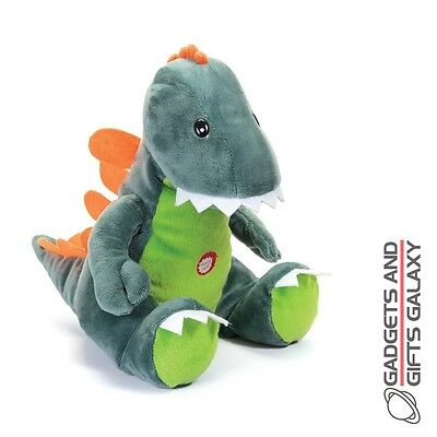 SUNGGLESAURUS DINOSAUR SOFT TOY ROARS WHEN SQUEEZED plush toy gift childs kids