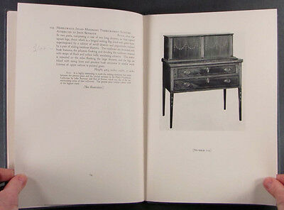 Antique American Colonial & Federal Furniture Vaughan Collection 1931 Catalog