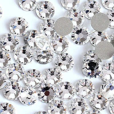 30xpieces Swarovski crystals flat back stones gems for nails shoes design
