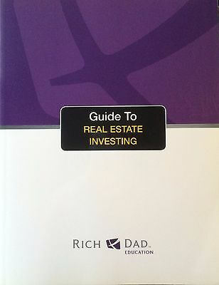 RICH DAD Guide to Real Estate Investing Training Manual Book Kiyosaki Poor